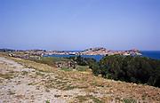 View from Villa Romana delle Grotte, Portoferraio, island of Elba, Italy in 1999