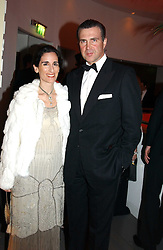 PRINCE & PRINCESS KARL VON AUERSPERG-BREUNNER at Andy & Patti Wong's Chinese New Year party to celebrate the year of the Rooster held at the Great Eastern Hotel, Liverpool Street, London on 29th January 2005.  Guests were invited to dress in 1920's Shanghai fashion.<br /><br />NON EXCLUSIVE - WORLD RIGHTS