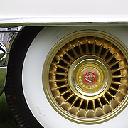 A 1956 Cadillac Eldorado Biarritz at the Greenwich Concours d'Elegance Festival of Speed and Style featuring great classic vintage cars. Roger Sherman Baldwin Park, Greenwich, Connecticut, USA.  2nd June 2012. Photo Tim Clayton