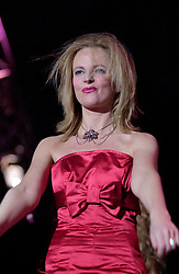 """""""Happy Birthday"""" and Gregorys Girl Claire Grogan of Altered Images on Tour with<br /><br />Steve Starnge (Visage)<br />The Belle Stars<br />Dollar<br />Kim Wilde<br />The Human League<br />Play on the Here and Now  Christmas Party Tour at Sheffields Hallam FM Arena Friday 13th December 2002<br /><br />[#Beginning of Shooting Data Section]<br />Nikon D1 <br />2002/12/13 20:54:10.1<br />JPEG (8-bit) Fine<br />Image Size:  2000 x 1312<br />Color<br />Lens: 80-200mm f/2.8-2.8<br />Focal Length: 105mm<br />Exposure Mode: Manual<br />Metering Mode: Spot<br />1/200 sec - f/2.8<br />Exposure Comp.: 0 EV<br />Sensitivity: ISO 800<br />White Balance: Auto<br />AF Mode: AF-S<br />Tone Comp: Normal<br />Flash Sync Mode: Not Attached<br />Color Mode: <br />Hue Adjustment: <br />Sharpening: Normal<br />Noise Reduction: <br />Image Comment: <br />[#End of Shooting Data Section]"""