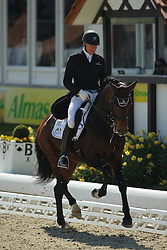 Finken Holga, (GER), Dynamo 20<br /> Nurnberger Burg-Pokal - St George Special<br /> Horses & Dreams meets Denmark - Hagen 2016<br /> © Hippo Foto - Stefan Lafrentz