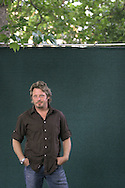 Film actor Charley Boorman pictured at the Edinburgh International Book Festival where he talked about his new book Long Way Round: Chasing Shadows Across the World which he co-authored with Ewan McGregor. The Book Festival was the World's largest literary event and featured writers from around the world. The 2006 event featured around 550 writers and ran from 13-28 August.