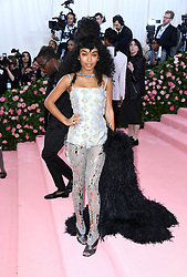 "Yara Shadidi at the 2019 Costume Institute Benefit Gala celebrating the opening of ""Camp: Notes on Fashion"".<br />