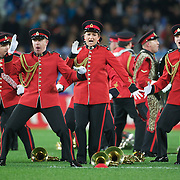 The New Zealand army band perform the Haka before the England V Argentina, Pool B match during the Rugby World Cup in Dunedin, New Zealand,. 10th September 2011. Photo Tim Clayton