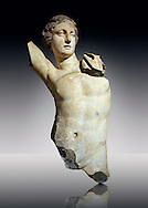 Greek  Hellenistic marble statue of Apollo, God of light, fine arts & prophecy, 2nd cent. B.C.  Istanbul Archaeological museum Inv 383 T.  Cat. Mendel 548