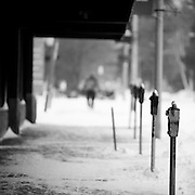 Not a whole lot of activity on the streets of Missoula on this cold, wintery day. Missoula Photographer, Montana Photographer, Pictures of Missoula, Montana Photos