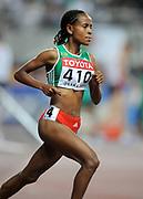 Sep 1, 2007; Osaka, JAPAN; Meseret Defar (ETH) won the womens 5,000m in 14:57.91 in the 11th IAAF World Championships at Nagai Stadium.