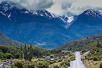 Beautiful landscape by Carretera Austral, Chile