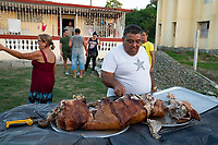 Family Pig Roast, Cuba 2020 from Santiago to Havana, and in between.  Santiago, Baracoa, Guantanamo, Holguin, Las Tunas, Camaguey, Santi Spiritus, Trinidad, Santa Clara, Cienfuegos, Matanzas, Havana