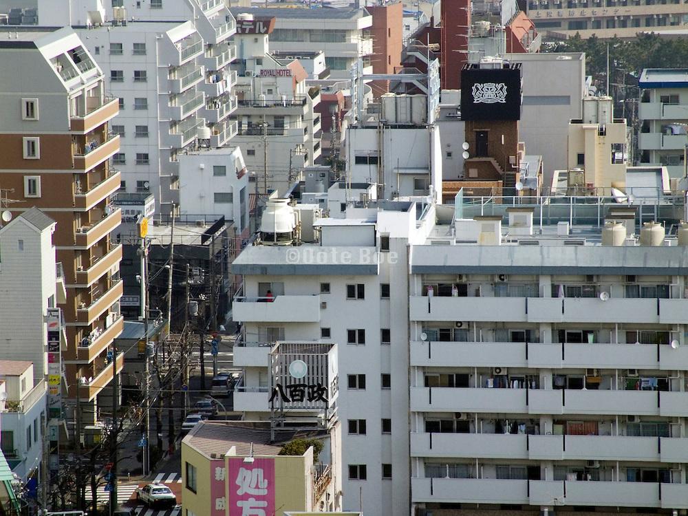 high rise residential flats in Yokosuka