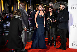 Rita Ora attending the UK premiere of 50 Shades Darker, at the Odeon cinema in Leicester Square, London. Picture date: Thursday February 9th, 2017. Photo credit should read: Matt Crossick/ EMPICS Entertainment.
