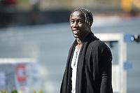 Bacary Sagna - 23.03.2015 -Equipe de France - Arrivee des joueurs a Clairefontaine<br /> Photo : Andre Ferreira / Icon Sport