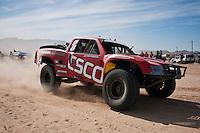 Gary Weyhrich trophy truck arrives at finish of 2011 San Felipe Baja 250