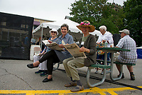 Laconia 125th celebration of the Train Station at Veteran's Square.  Karen Bobotas for the Laconia Daily Sun