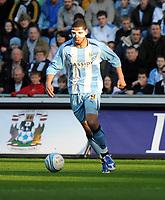 Fotball<br /> England<br /> Foto: Fotosports/Digitalsport<br /> NORWAY ONLY<br /> <br /> Ricoh Stadium Coventry City v Birmingham City (1-0) Championship 21/02/2009<br /> Leon Best  (Coventry)