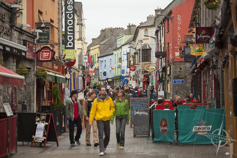 Galway shopping area on Druid Lane.