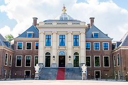 Huis ten Bosch Palace, after the renovation of the interior and exterior of the Royal Palace, the new home of King Willem-Alexander and Queen Maxima of the Netherlands. 03 Jul 2019 Pictured: Huis ten Bosch Palace, the hallway, The Green Room, the DNA Salon, Library, King-Willem-Alexander and Queen Maxima's offices, the Chinese Room, the Japanese Room, the White Diningroom, the Yellow Ballroom, the Orange Room. Photo credit: MEGA TheMegaAgency.com +1 888 505 6342