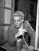 1959 – 04/09 Ray McAnally at Abbey Theatre