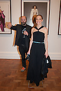GAVIN TURK; TIPHAINE DE LUSSY, Opening of Bailey's Stardust - Exhibition - National Portrait Gallery London. 3 February 2014