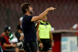 August 10, 2017 - Naples, Naples, Italy - Coach of Espanyol Quique Sanchez Flores during the Pre-season Frendly match between SSC Napoli and RCD Espanyol at Stadio San Paolo Naples Italy on 10 August 2017. (Credit Image: © Franco Romano/NurPhoto via ZUMA Press)