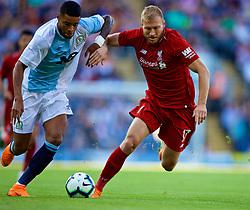 BLACKBURN, ENGLAND - Thursday, July 19, 2018: Liverpool's Ragnar Klavan during a preseason friendly match between Blackburn Rovers FC and Liverpool FC at Ewood Park. (Pic by Paul Greenwood/Propaganda)