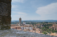 Siena - view from the Torre del Mangia