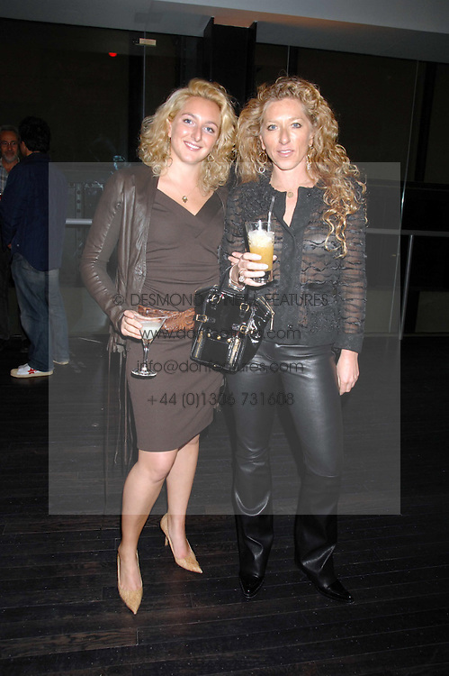 Left to right, NATASHA CORRETT and her mother interior designer KELLY HOPPEN at a reception to celebrate the opening of the Dali & Film exhibition at the Tate Modern, London on 30th May 2007.<br /><br />NON EXCLUSIVE - WORLD RIGHTS