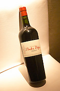 A bottle of Piedra Negra Malbec Bodega Jacques and Francois Lurton Mendoza Valle de Uco 2002 The Dolly Irigoyen - famous chef and TV presenter - private restaurant, Buenos Aires Argentina, South America Espacio Dolli