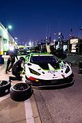 January 27-29, 2021. IMSA Weathertech Series. Rolex Daytona 24h:  GRT Grasser Racing Team Lamborghini Huracan GT3, Orange 1 Racing, GTD mechanics,
