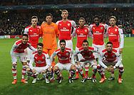 Arsenal's team shot<br /> <br /> - Champions League Group D - Arsenal vs Anderlecht- Emirates Stadium - London - England - 4th November 2014  - Picture David Klein/Sportimage