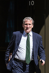 London, UK. 16 July, 2019. Damian Hinds MP, Secretary of State for Education, leaves 10 Downing Street following a Cabinet meeting.