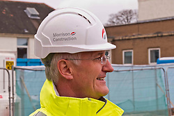 Pictured: Morrison Construction's   project Director Phil Galbraith<br /> <br /> Infrastructure Secretary Michael Matheson visited East Lothian Community Hospital's construction site today to give an update on the Scottish Government's infrastructure programme, on the same day as an annual progress report is published<br /> <br /> Ger Harley | EEm 17 April 2019