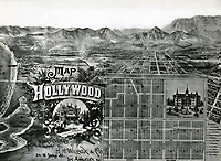 1887 Hollywood's first tract map