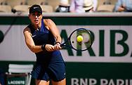 Belinda Bencic of Switzerland during the second round at the Roland-Garros 2021, Grand Slam tennis tournament on June 2, 2021 at Roland-Garros stadium in Paris, France - Photo Rob Prange / Spain ProSportsImages / DPPI / ProSportsImages / DPPI