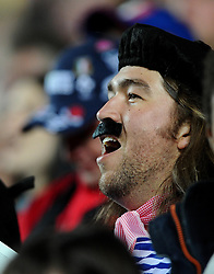 French fan  - Mandatory byline: Joe Meredith/JMP - 07966386802 - 01/10/2015 - Rugby Union, World Cup - Stadium:MK -Milton Keynes,England - France v Canada - Rugby World Cup 2015