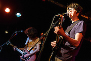 WASHINGTON, D.C. - May 23rd, 2016 - Bassist Ethan Ives and Will Toldeo, aka Car Seat Headrest, perform at the Black Cat in Washington, D.C. Toledo, originally from Leesburg, VA, was recently signed to Matador Records. (Photo by Kyle Gustafson / For The Washington Post)