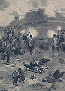 Crimean War 1853-1856:   Siege of Sebastopol - Unsuccessful British assault on the Redan, 8 September 1855.