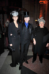 NINA TRYON and PHILIP TREACY at Hats - an antology of Stephen Jones held at the V&A, London on 23rd February 2009.