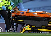 Football - 2020 / 2021 EFL Carabao Cup - Round Three - Manchester City vs AFC Bournemouth<br /> <br /> Adrian Bernabe of Manchester City at the Etihad Stadium.<br /> <br /> <br /> COLORSPORT/LYNNE CAMERON