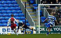 Photo. Glyn Thomas. 08/02/2005.<br /> Reading v Coventry City.<br /> Coca Cola Championship<br /> Coventry's Gary McSheffrey (L) scores his side's first goal.