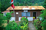 SPPF political party local office, Bel Ombre, Mahe, Seychelles 1990s