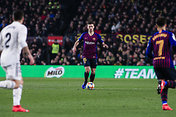 February 6, 2019 - Barcelona, Spain - 15 Lenglet of FC Barcelona during the semi-final first leg of Spanish King Cup / Copa del Rey football match between FC Barcelona and Real Madrid on 04 of February of 2019 at Camp Nou stadium in Barcelona, Spain  (Credit Image: © Xavier Bonilla/NurPhoto via ZUMA Press)
