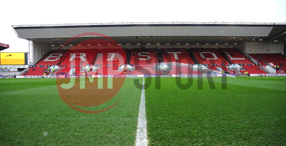 General views of Ashton Gate Stadium- Mandatory by-line: Nizaam Jones/JMP - 17/03/2018 - FOOTBALL - Ashton Gate Stadium- Bristol, England - Bristol City v Ipswich Town - Sky Bet Championship