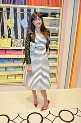 DAISY LOWE at the opening party of the new Kate Spade New York store at 182 Regent Street, London on 21st April 2016.