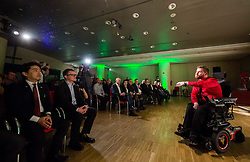 during Slovenian Disabled Sports personality of the year 2017 event, on December 6, 2017 in Austria Trend Hotel, Ljubljana, Slovenia. Photo by Vid Ponikvar / Sportida