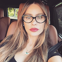 """Sofia Vergara releases a photo on Instagram with the following caption: """"Always protected\ud83d\udc41 \ud83d\ude0d\ud83d\ude0d #I\u2764\ufe0fevileyes."""". Photo Credit: Instagram *** No USA Distribution *** For Editorial Use Only *** Not to be Published in Books or Photo Books ***  Please note: Fees charged by the agency are for the agency's services only, and do not, nor are they intended to, convey to the user any ownership of Copyright or License in the material. The agency does not claim any ownership including but not limited to Copyright or License in the attached material. By publishing this material you expressly agree to indemnify and to hold the agency and its directors, shareholders and employees harmless from any loss, claims, damages, demands, expenses (including legal fees), or any causes of action or allegation against the agency arising out of or connected in any way with publication of the material."""