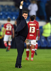 Bristol City manager, Steve Cotterill  - Mandatory byline: Joe Meredith/JMP - 07966 386802 - 26/10/2015 - FOOTBALL - Cardiff City Stadium - Cardiff, Wales - Cardiff City v Bristol City - Sky Bet Championship
