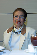 April 17, 2012 Washington, D.C: District of Colombia Congresswoman Eleanor Holmes Norton (Honoree) attends Rev. Al Sharpton's  2012 National Action Network Convention held at the Walter E. Washington Convention Center from April 11-14, 2012 in Washington, D.C ..National Action Network (NAN) is one of the leading civil rights organizations in America and is at the forefront of the social justice movement, confronting issues such as police misconduct and abuse, voter rights, education, workers' right, healthcare awareness, anti-violence and more. Founded in New York City in 1991 by Rev. Al Sharpton and a group of activists, NAN is committed to the principles of nonviolent activism and civil disobedience as a direct outgrowth of the movement that was lead by the Rev. Dr. Martin Luther King, Jr. .(Photo by Terrence Jennings).