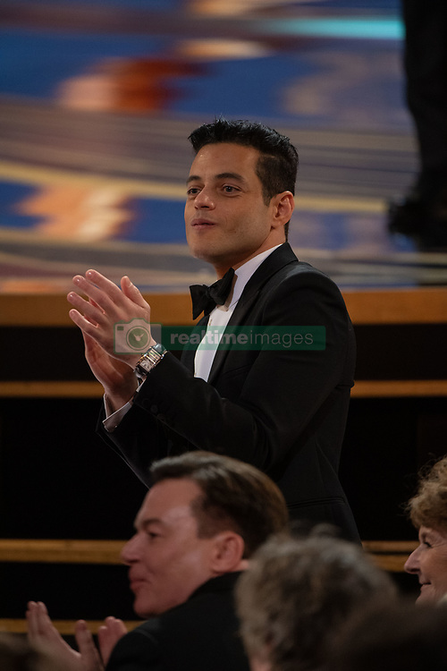 Rami Malek attends the 91st Oscars® at the Dolby® Theatre in Hollywood, CA on Sunday, February 24, 2019.
