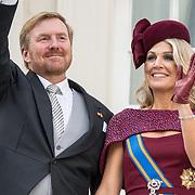 NLD/Den Haag/20190917 - Prinsjesdag 2019, Koning Willem Alexander en Koningin Maxima